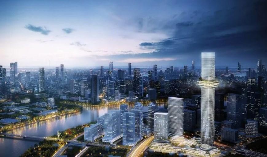 Dự án Empire City- Tình trạng: Đang thi công