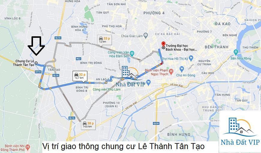 04- Vị trí chung cư Lê Thành Tân Tạo