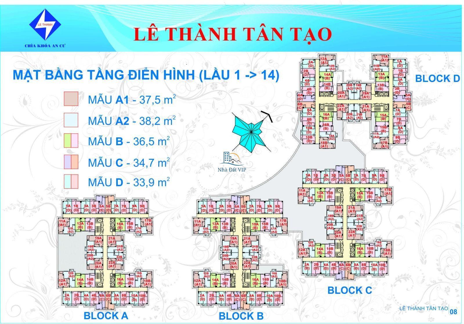 06-Bố trí căn hộ Lê Thành Tân Tạo