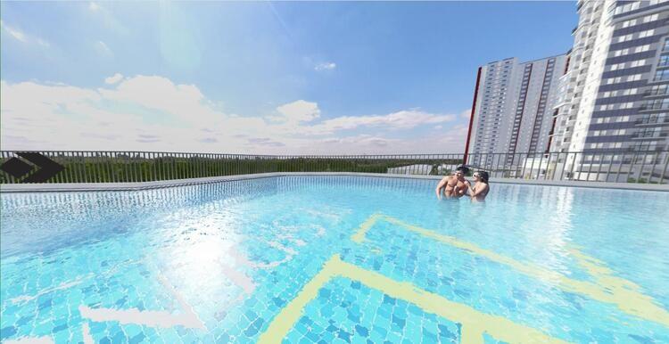 07-Bể bơi vô cực the zen residence