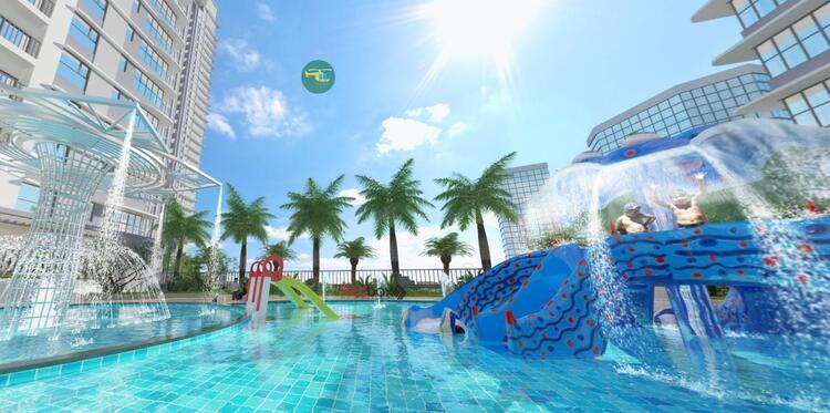 08-Bể bơi trẻ em the zen residence