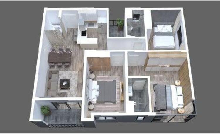 11-5 mặt bằng thiết kế chung cư the zen gamuda
