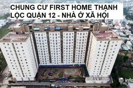 Chung cư First home Thạnh Lộc quận 12