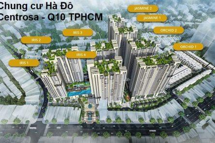 Chung cư Hà Đô Centrosa - 8 Tòa Tháp
