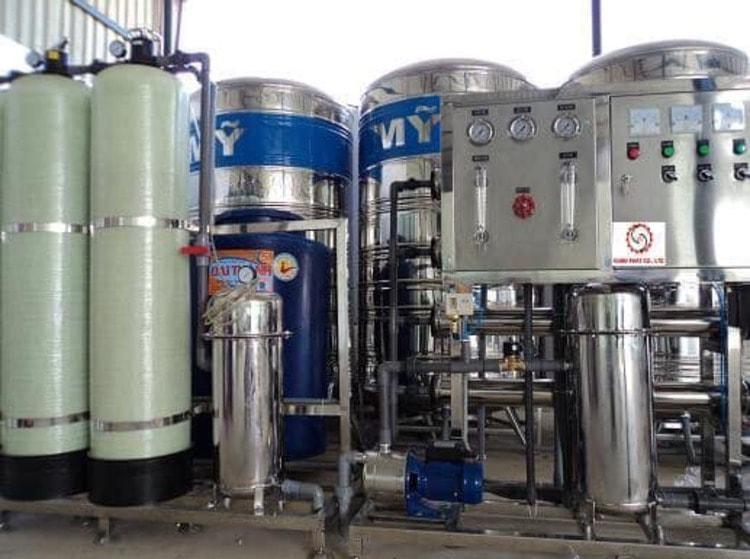 Hệ thống lọc nước hiện đại Chung cư quốc tế Booyoung