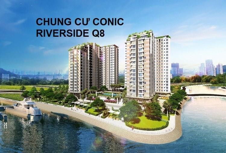 Phối cảnh chung cư Conic Riverside